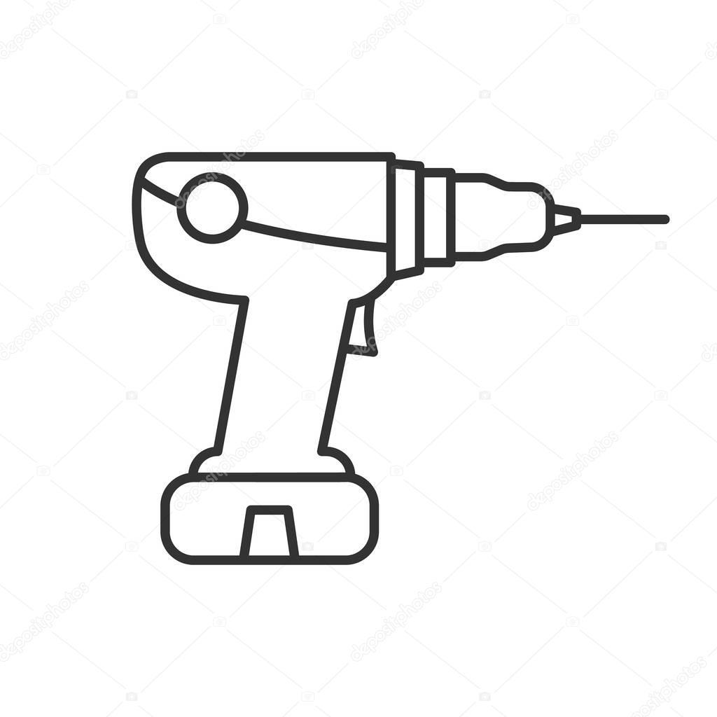 Bohrmaschine Symbol