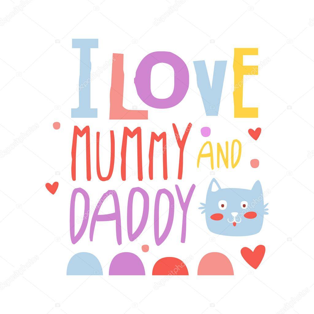 Download Imágenes: amo las de mamá y papá   Te amo mamá y papá de ...