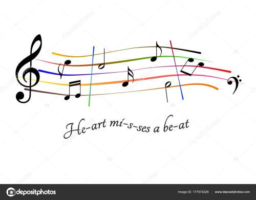 small resolution of musical score heart misses a beat stock photo