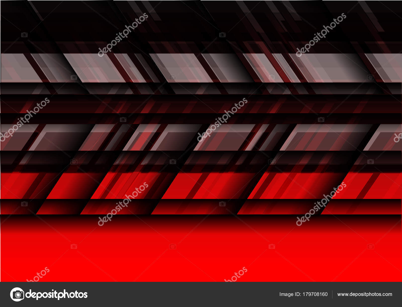 abstract black gray red