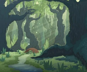ᐈ Enchanted forest animals stock illustrations Royalty Free enchanted forest vectors download on Depositphotos®