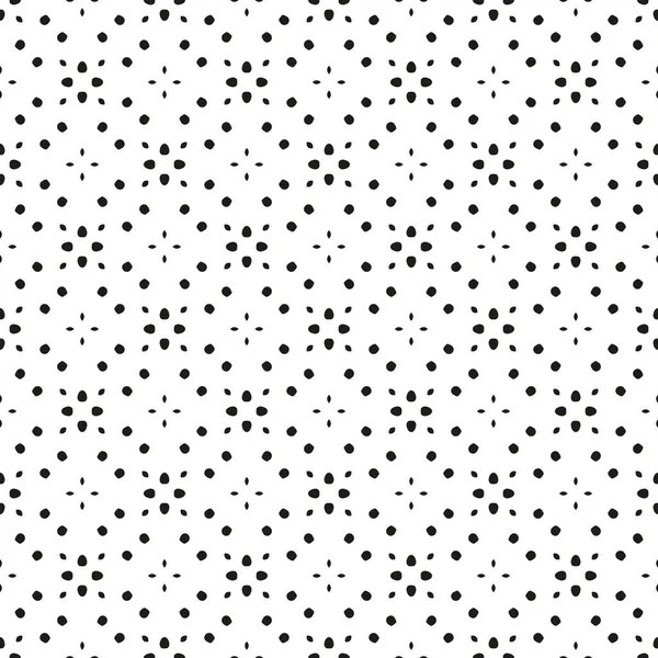 Random pattern of grey polka dots on white, different