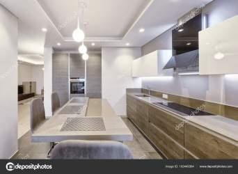 Cocina Moderna Diseño Interiores Casa Nueva Fotos de