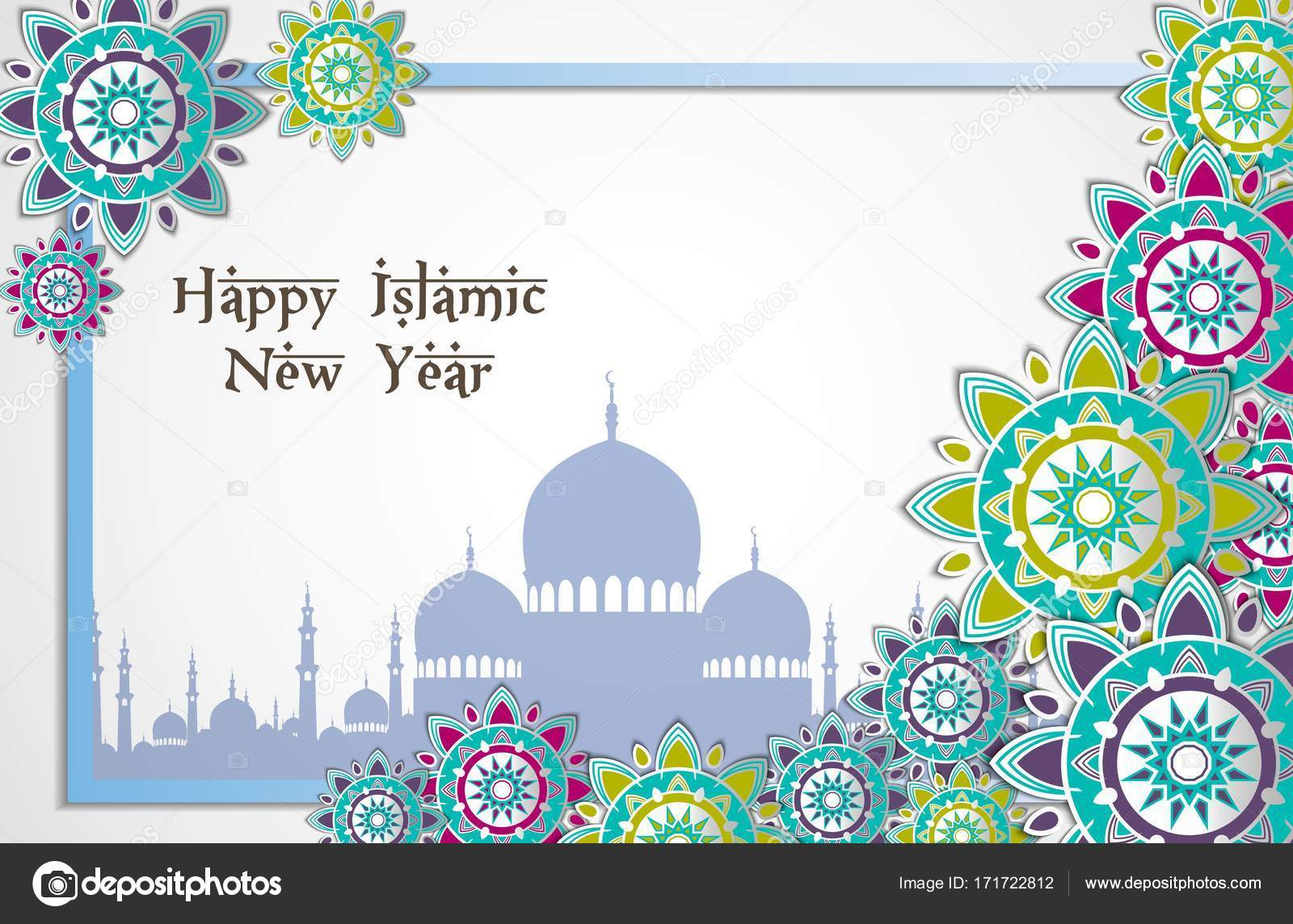 islamic new year design