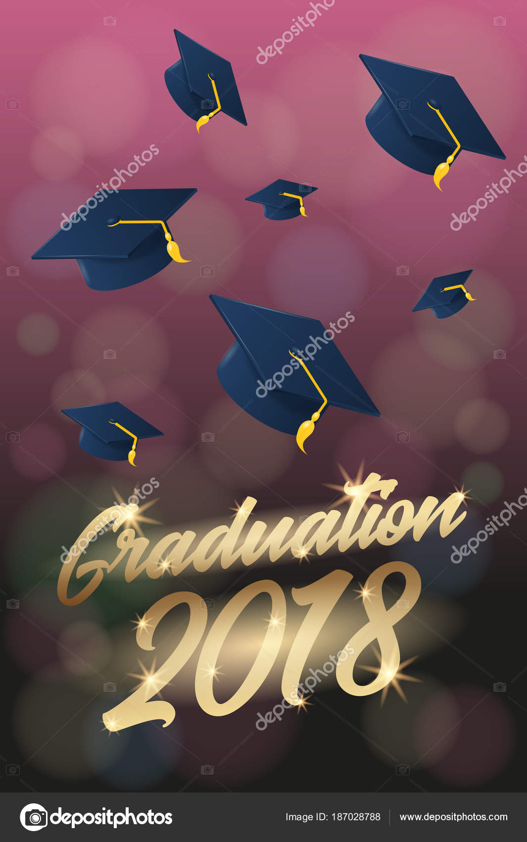 graduation 2018 poster or