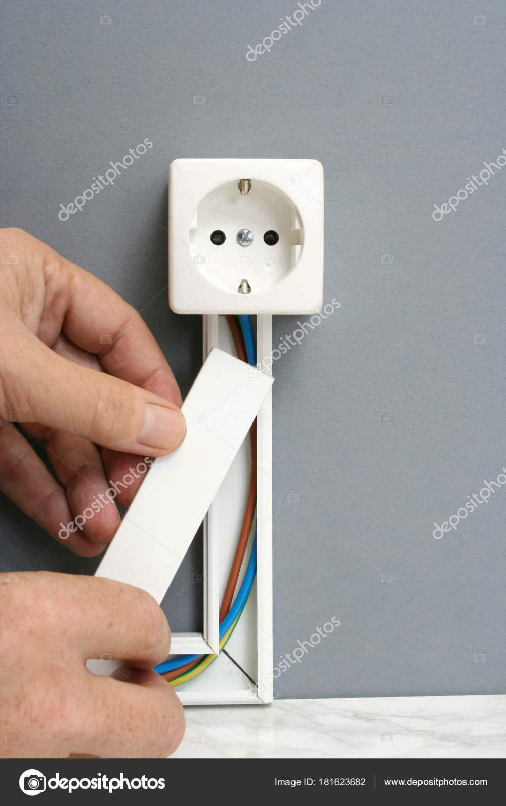 medium resolution of installing a power outlet with surface mount electric wiring cha installing a power outlet with surface