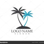 Coconut Tree Logos Coconut Tree Logo And Symbols Stock Vector C Hatigraphic 157901934