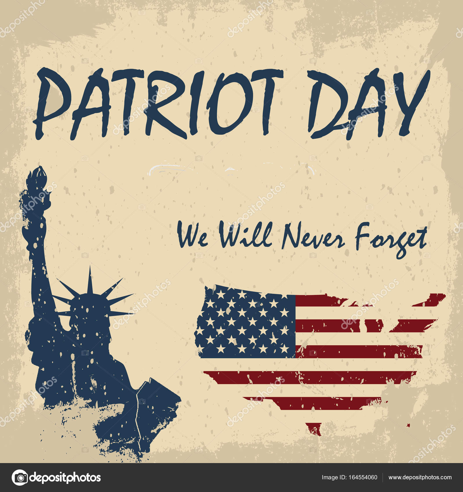 We Will Never Forget 9 11 Patriot Day Background