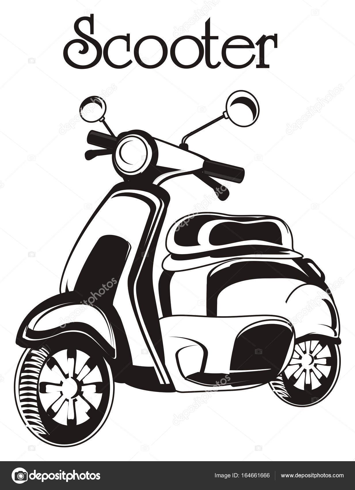 Un Ciclomotor Antiguo