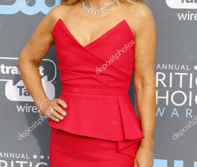 Businesswoman Lori Greiner Rd Annual Critics Choice Awards Held Barker Stock Photo