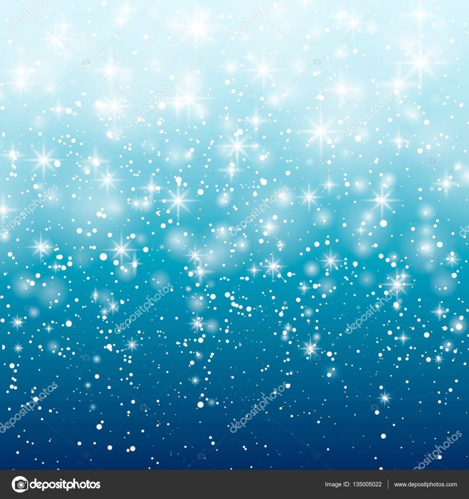 Snow Falling Gif Wallpaper 青色の背景に降る雪は。ベクトル イラスト 10 Eps。抽象的な白いキラキラ雪の結晶の背景。ベクトル マジック