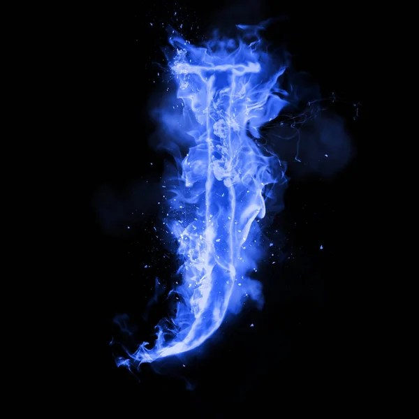 I Letter 3d Wallpapers Fire Letter M Of Burning Flame Light Stock Photo