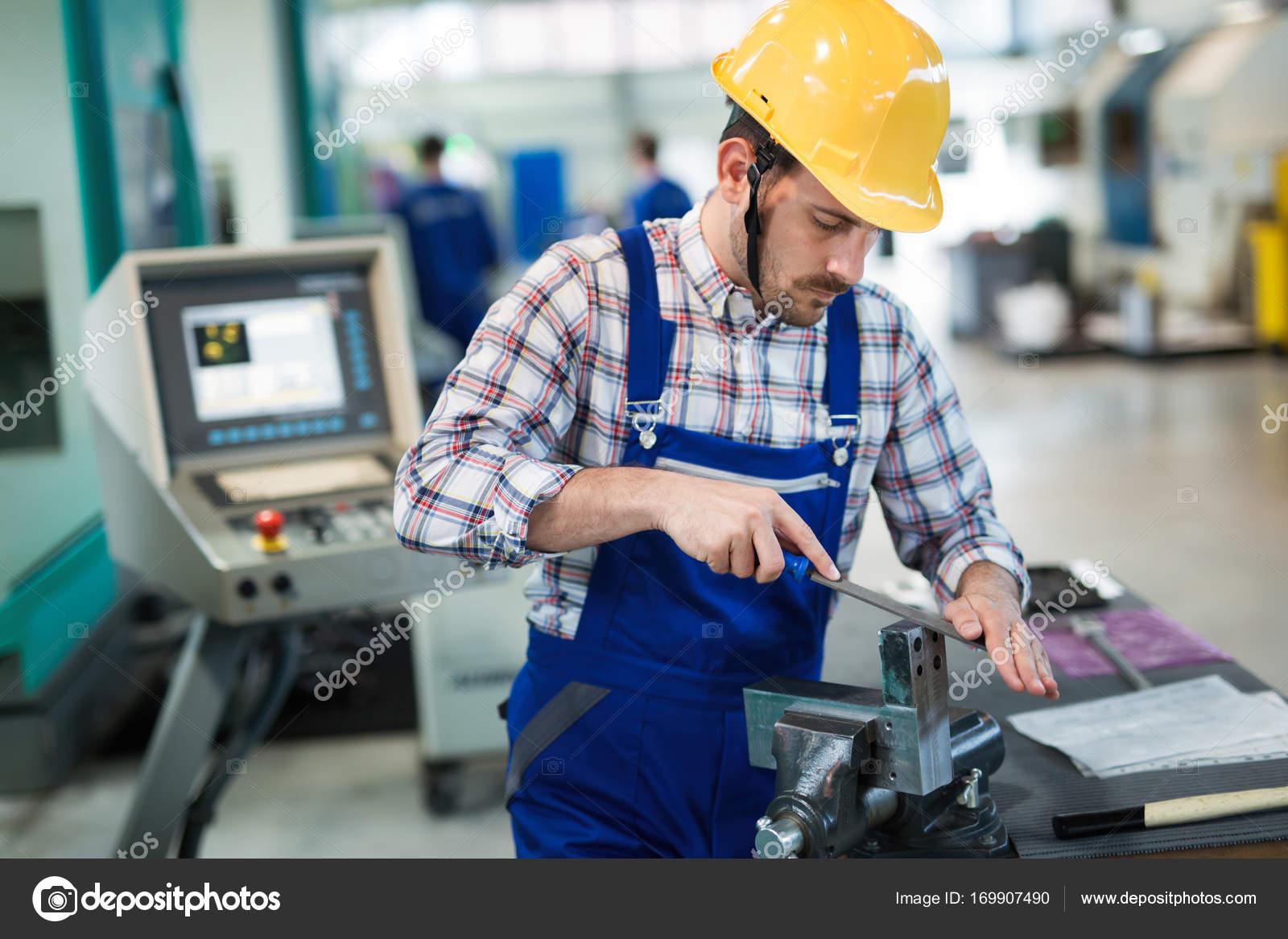 metal industry factory worker