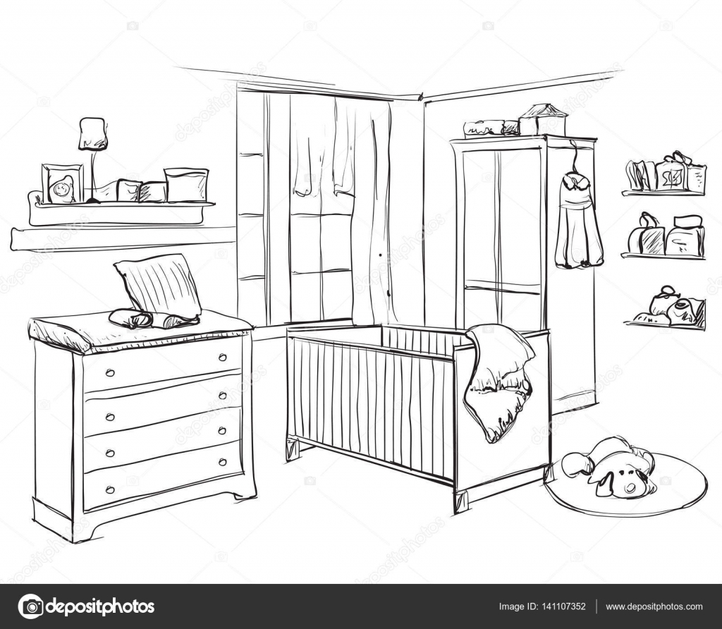 Clipart Bedroom