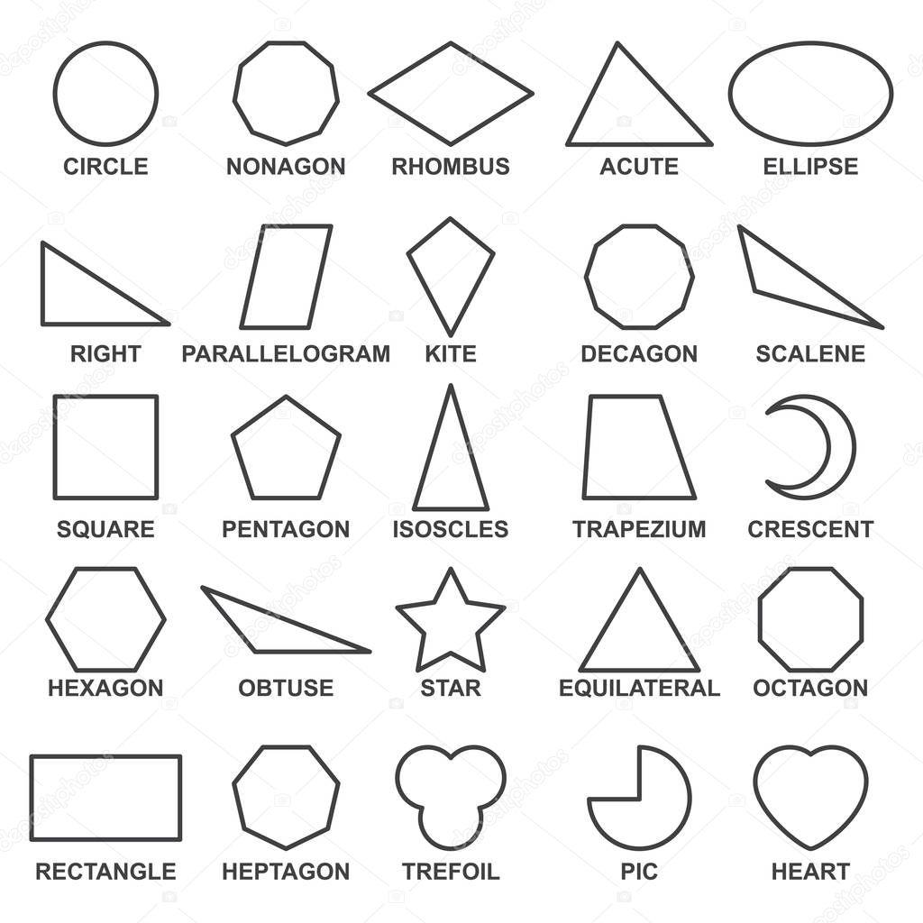 Imagenes Formas Basicas Geometricas