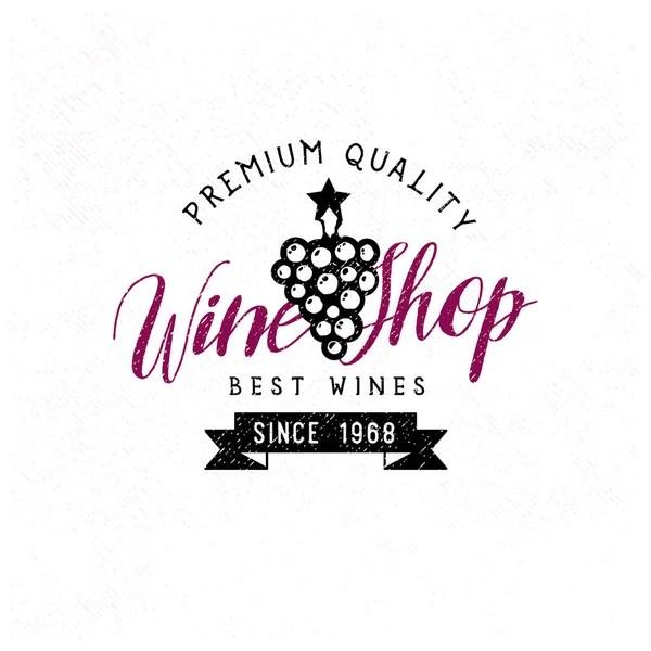 Wine list logo template — Stock Vector © seveniwe #138876204