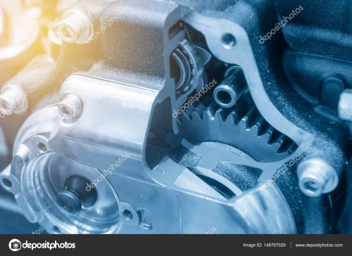 small resolution of the motorcycle gear box stock photo