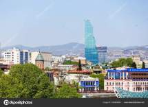 Tbilisi Georgia - 01 2017. Panorama View Of
