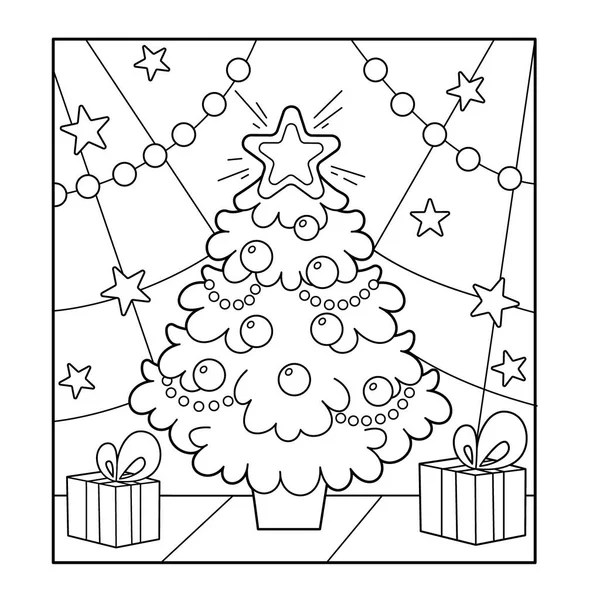 Karácsonyfa díszek és ajándékok. Karácsonyi. Új év