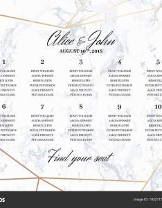 Wedding seating chart poster template  stock vector also radionastya rh depositphotos