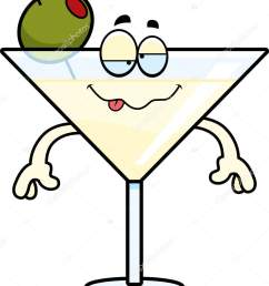 a cartoon illustration of a martini looking drunk vector by cthoman [ 1261 x 1700 Pixel ]