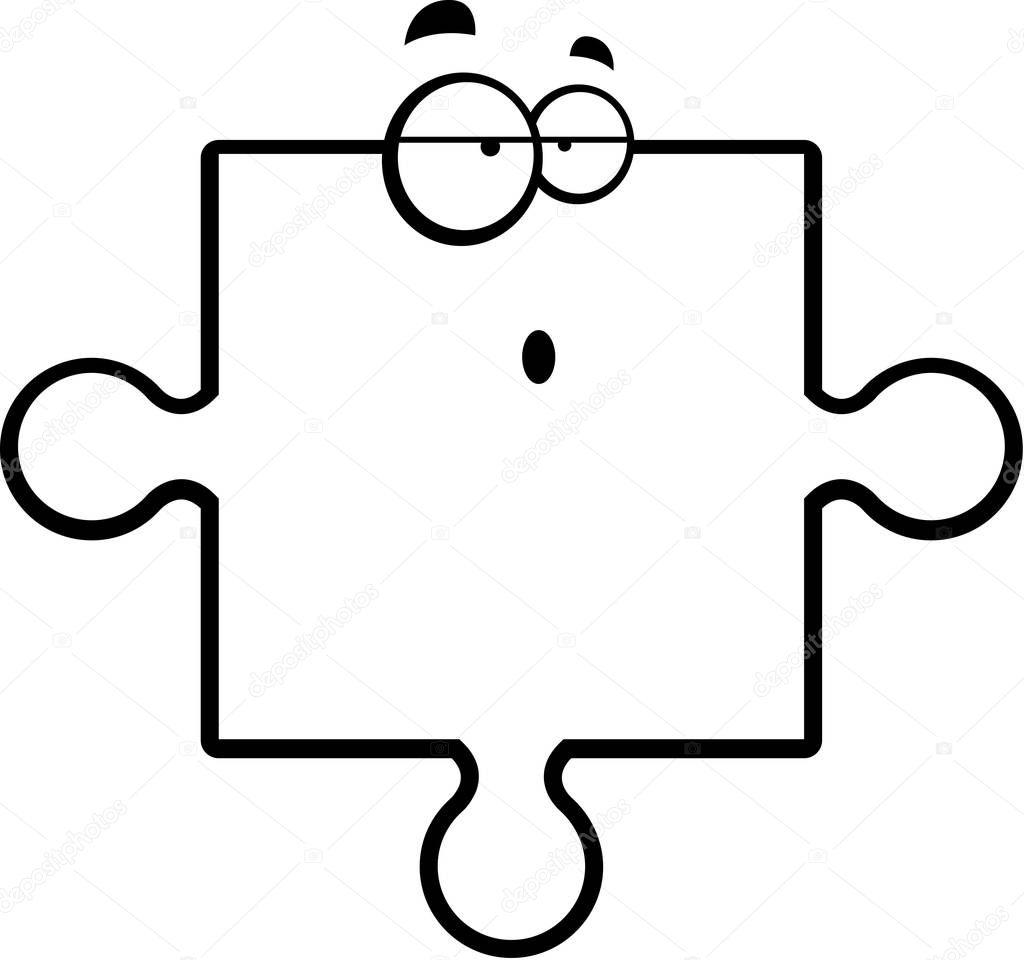 Piece Du Puzzle Confus