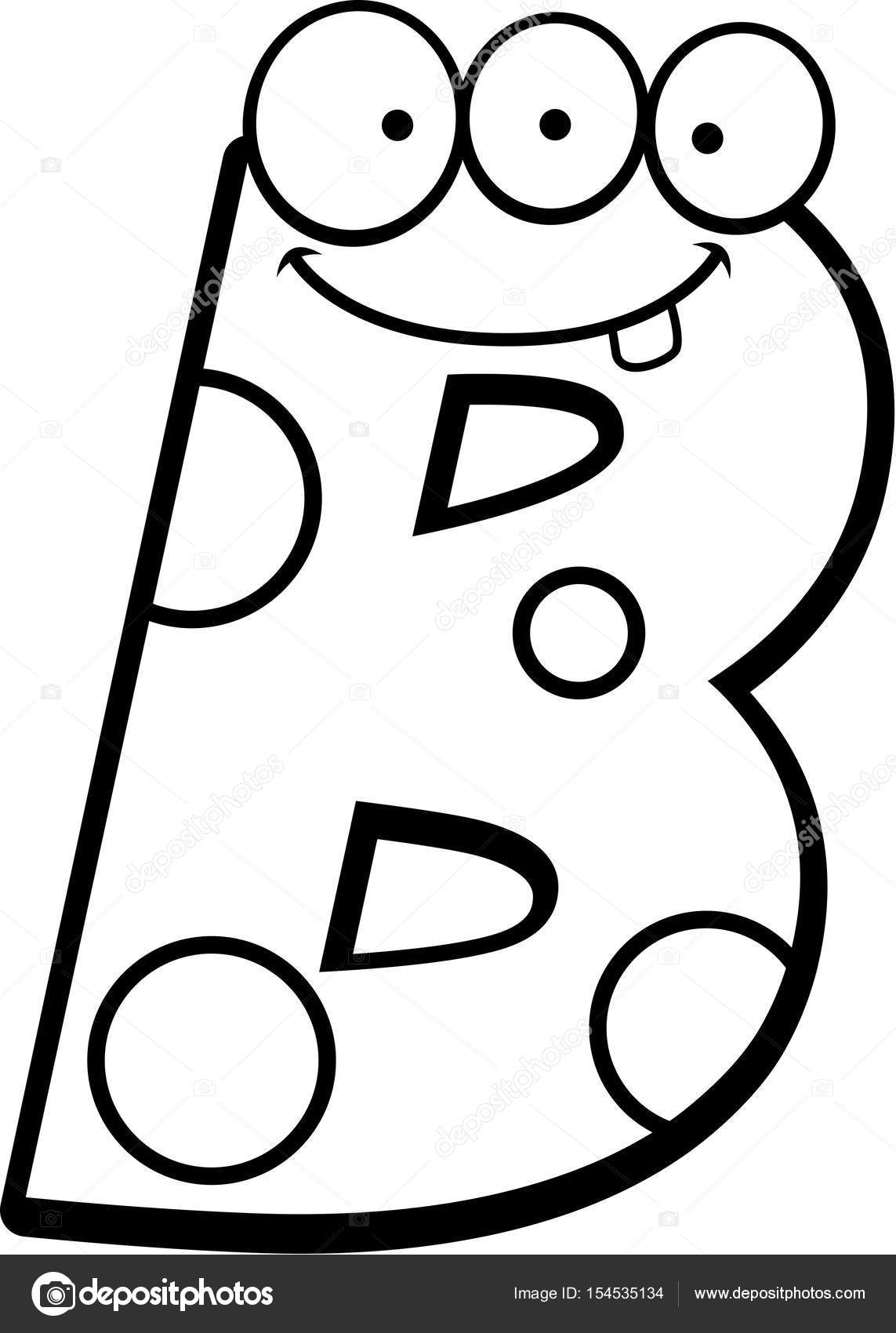 Monstro Da Letra B
