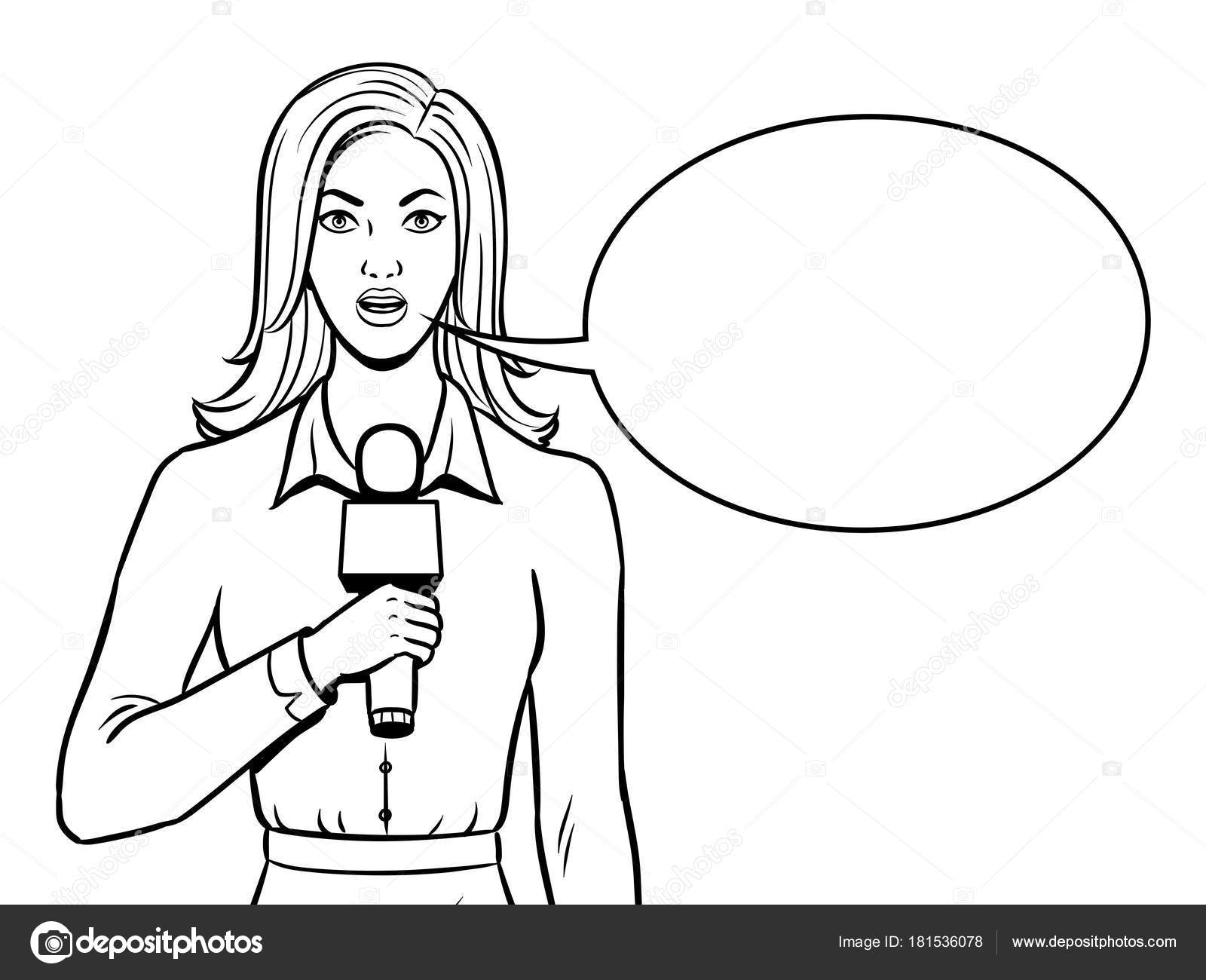 Journalist Coloring Pages Coloring Pages