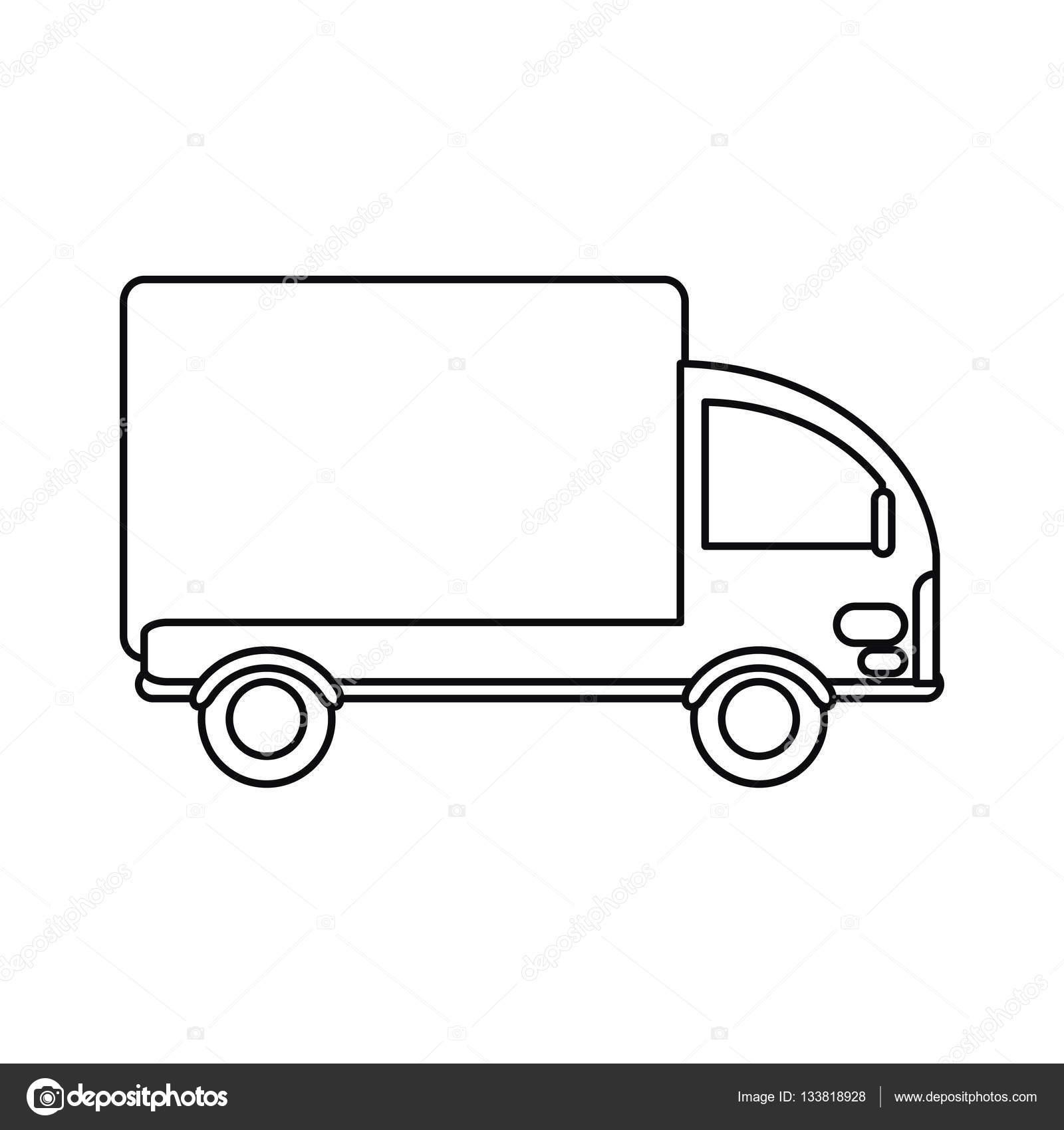 Profilo Di Carico Consegna Mini Camion
