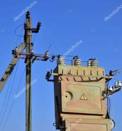 old obsolete electrical transformer background cloudless blue sky device distribution stock photo [ 1060 x 1700 Pixel ]