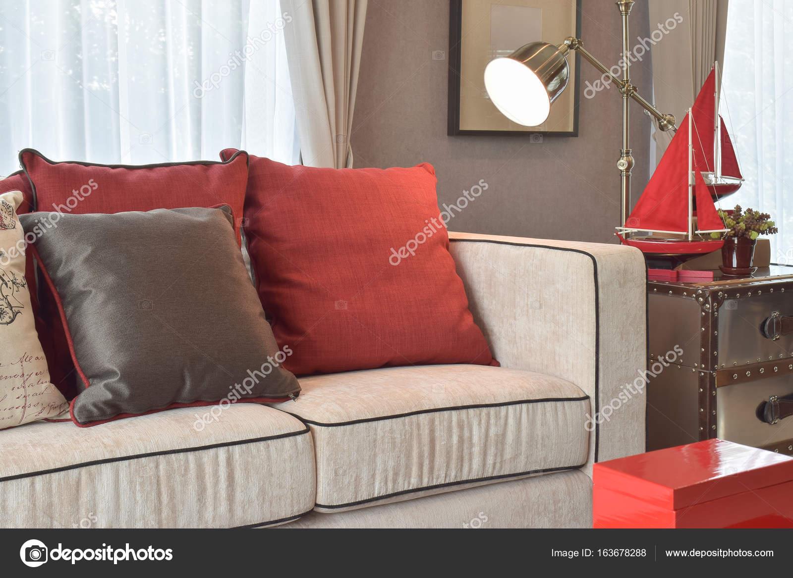 Klassische Industrielle Aussehen Wohnzimmer Mit Sofa