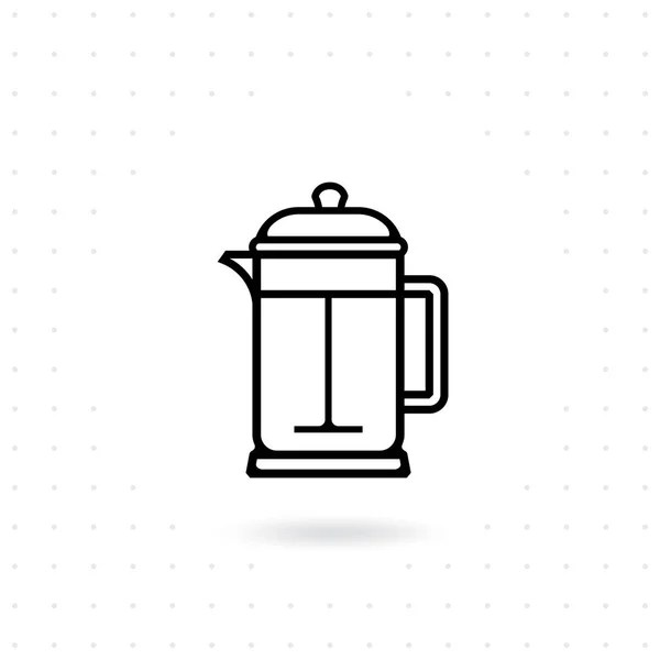 Coffee Machine Icon Espresso Coffee Machine Outline Icon
