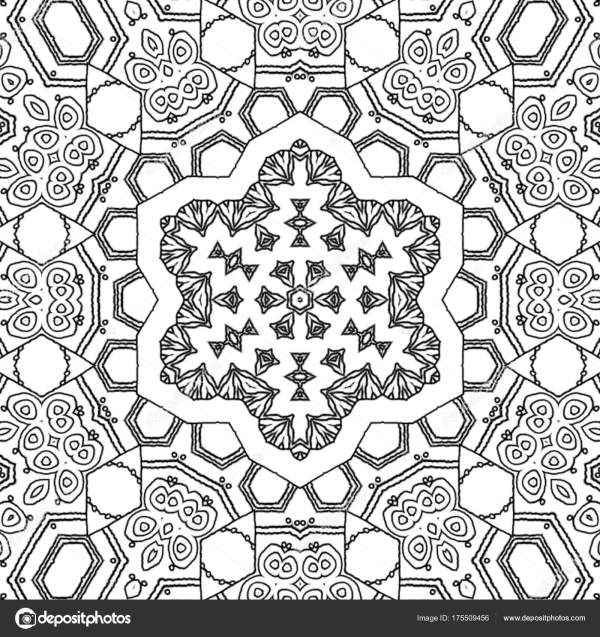 abstract coloring page # 45