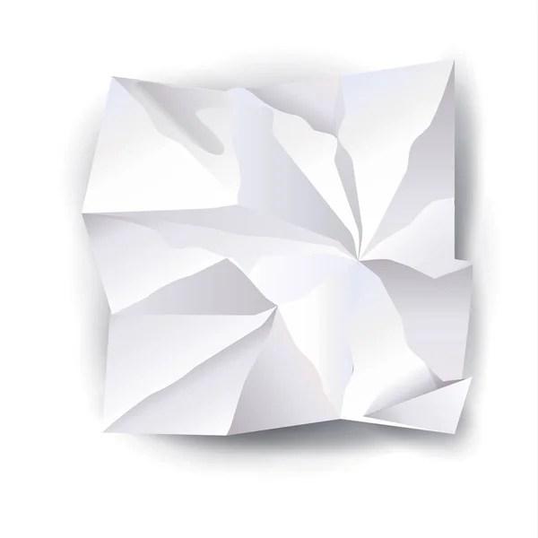 Crumpled paper ball Stock Vector tiloligo 8069938