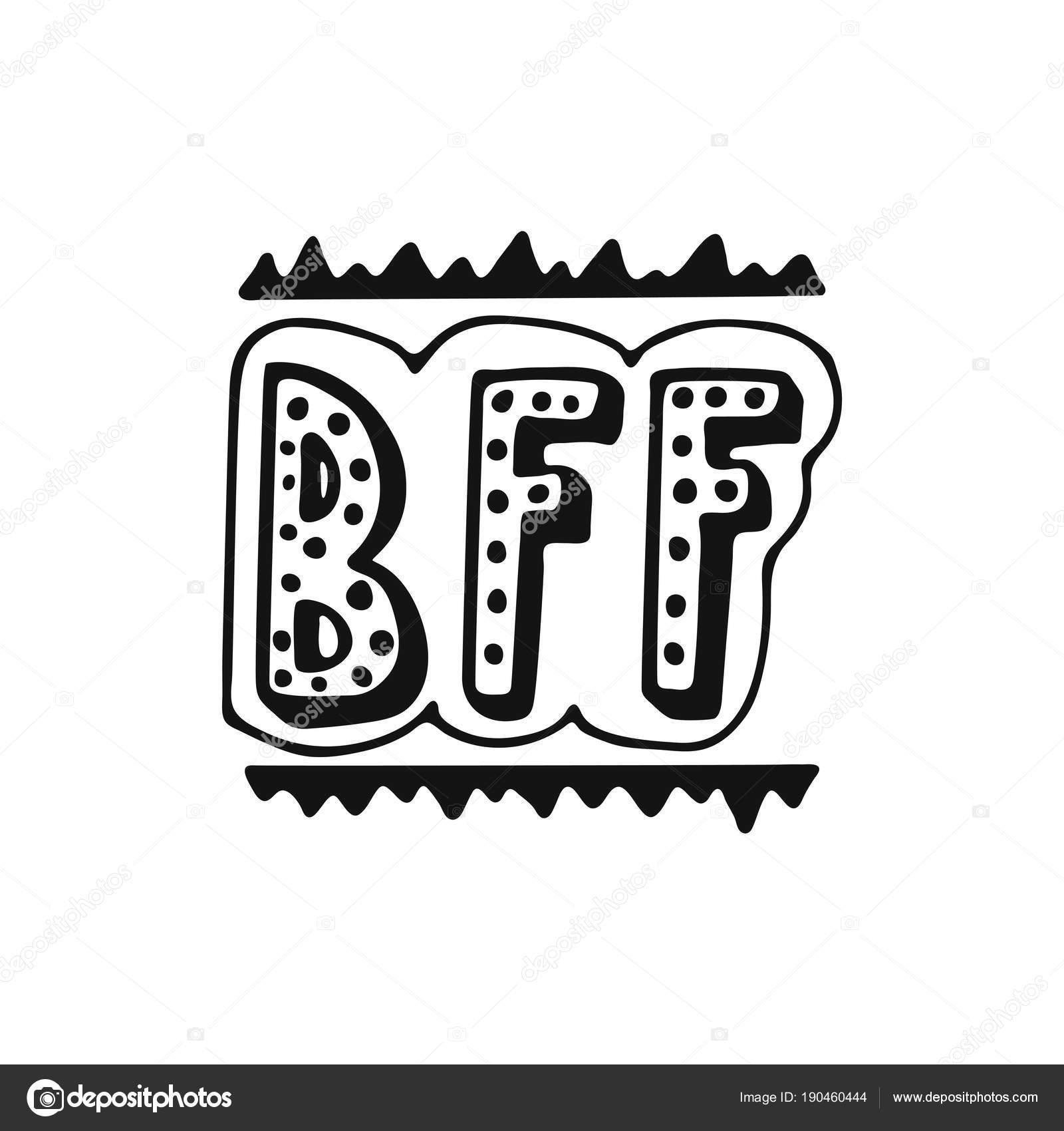Foto B F F Bff