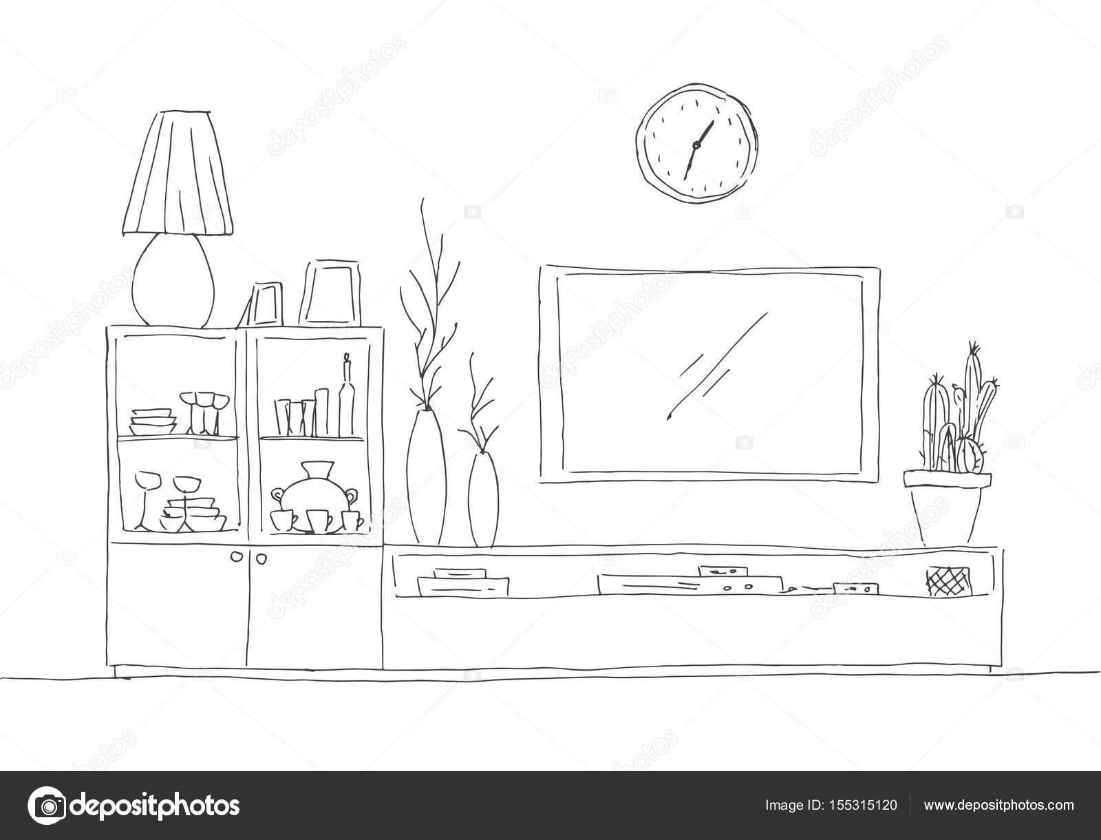 dresser shelves