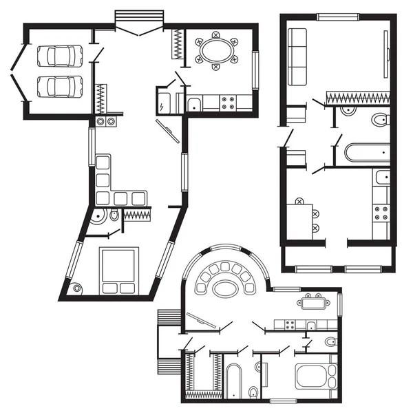 House Floor Plan Symbols House Plan Furniture Templates