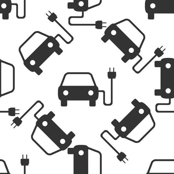 Electric powered car icons — Stock Vector © ladyann #8202296