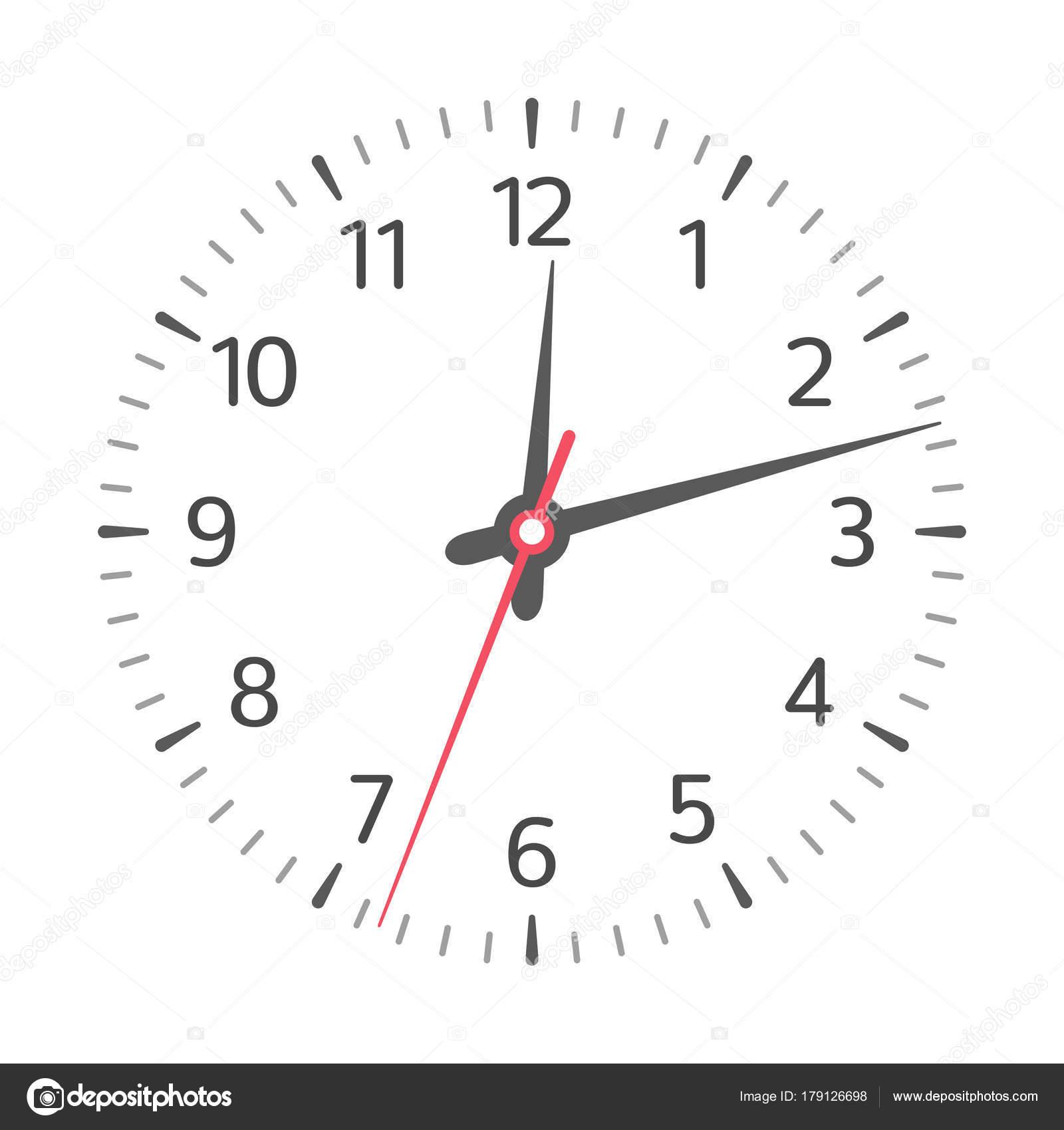 Clock Face Vector