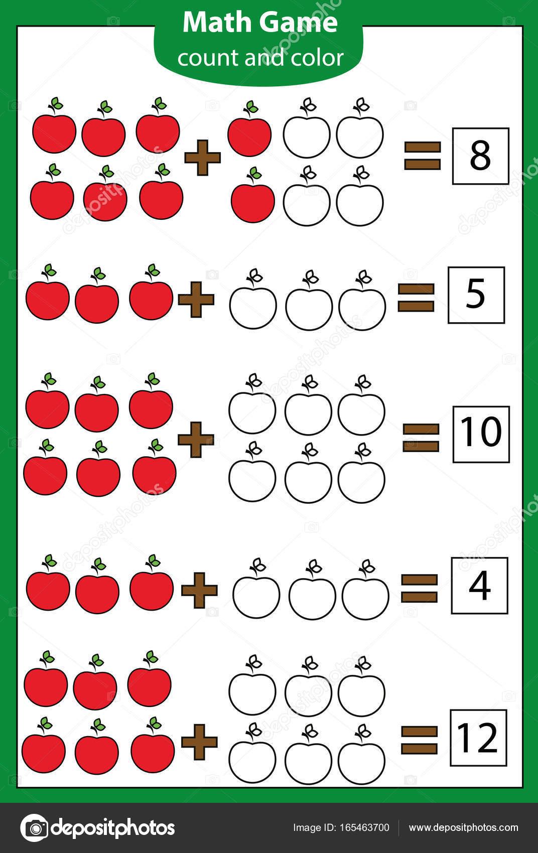 Matematica Jogo Educativo Para Criancas Contando Equacoes