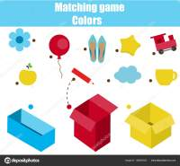 Educational children game. Matching game worksheet for ...
