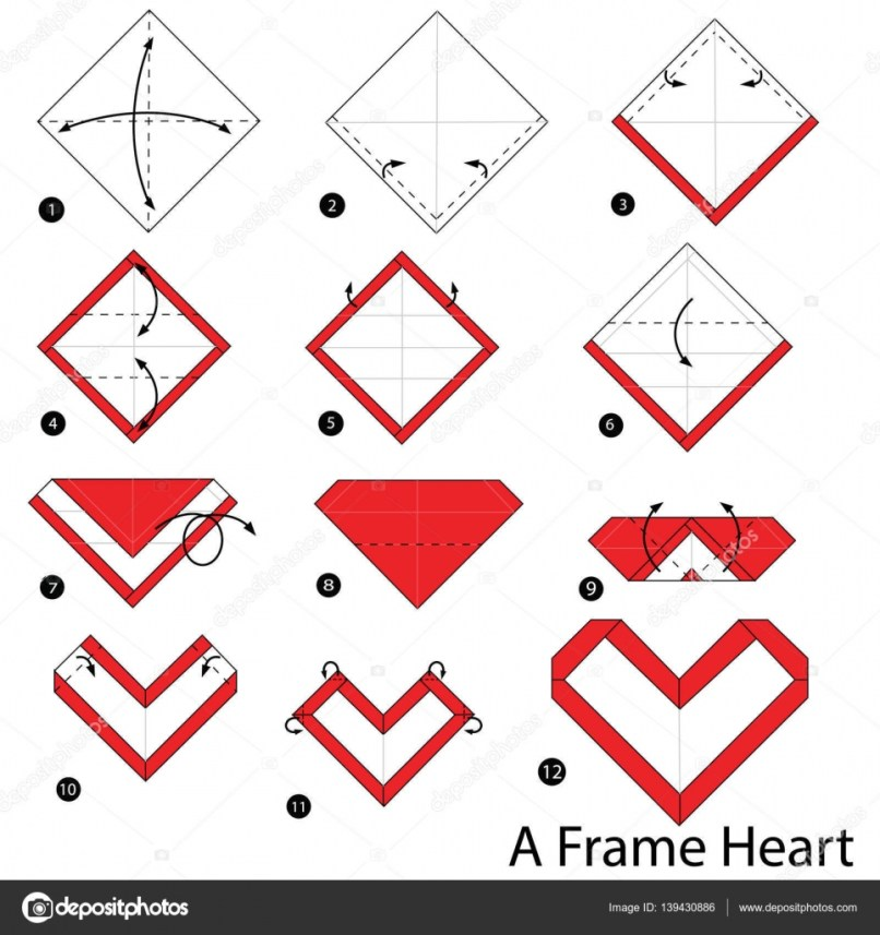 origami picture frame instructions   Frameswalls.org