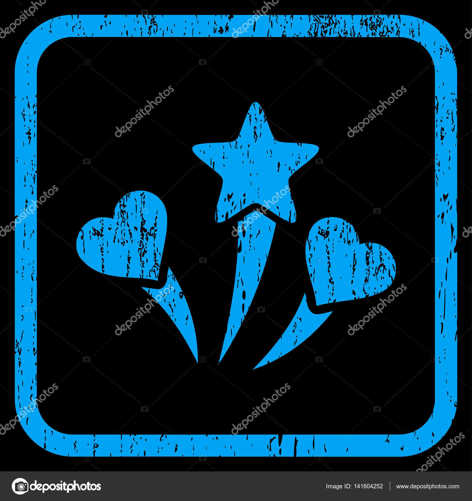 hight resolution of lovely fireworks rubber watermark vector icon symbol inside rounded rectangular frame with grunge design and dirty texture stamp seal illustration