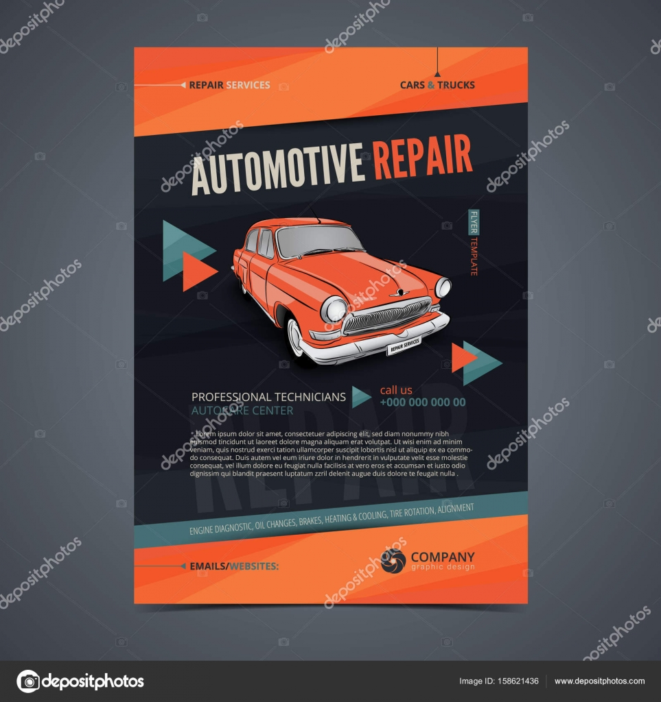 auto repair services layout