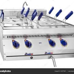 Kitchen Fryer Chairs Target 清洁的油炸锅关闭了在厨房的照片嗨 图库照片 C Purtoff Gmail Com 147277947