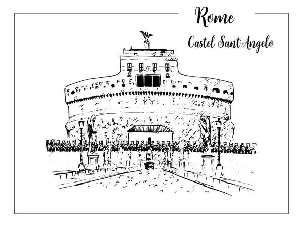 Vettoriali stock Skyline disegno roma Illustrazioni Skyline disegno roma royaltyfree  Depositphotos