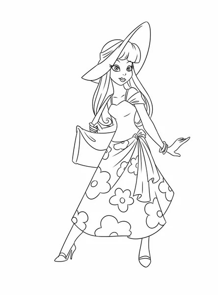 coloring pages fashion # 32