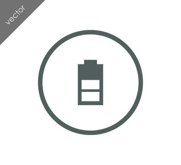 Battery charge icon — Stock Vector © signsandsymbols@email