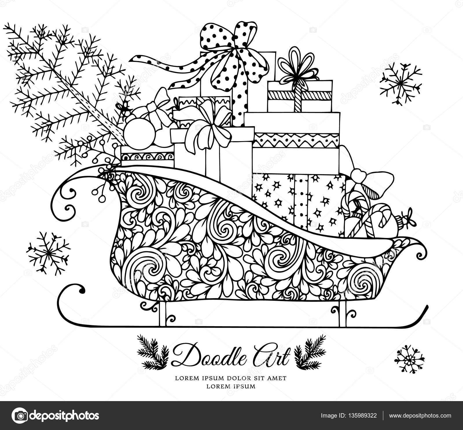 Kleurplaat Cadeautjes