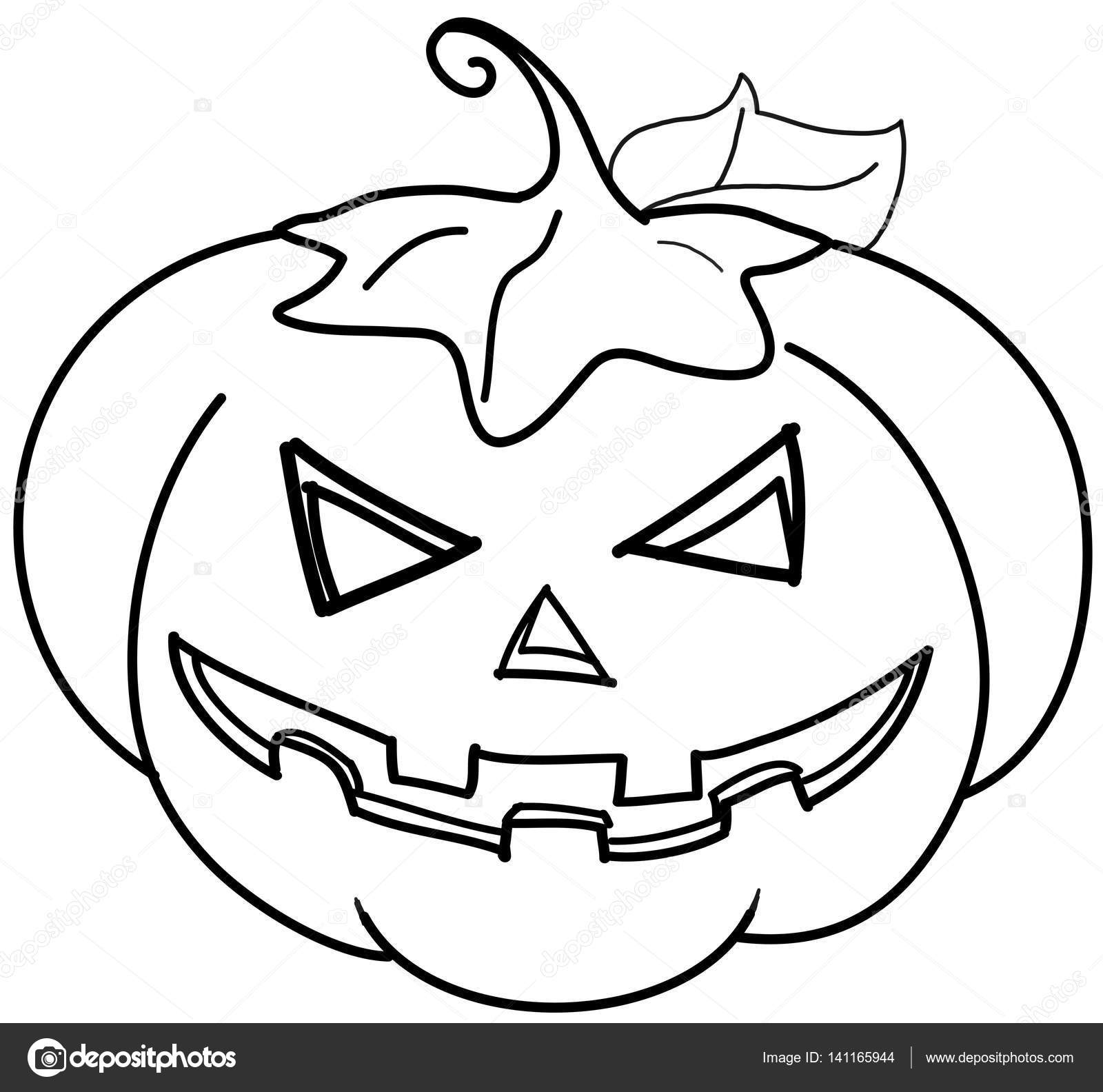 Pictures Jack O Lanterns To Color